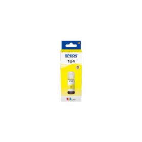 EPSON C13T00P440  FLACONE GIALLO 104 DA 65ML PER ECOTANK ET-2710/2720/4700