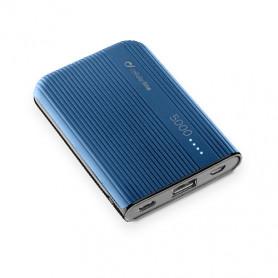 CELLULAR FREEPPT5USBCB CARICABATTERIA EMER. 5000 USB-C BLU