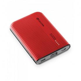 CELLULAR FREEPPT5USBCR CARICABATTERIA EMER. 5000 USB-C ROSSO