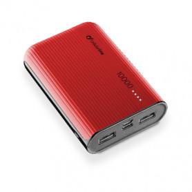 CELLULAR FREEPPT10USBCR CARICABATTERIA EMER. 10000 USB-C ROSSO