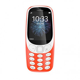 WIND 9132 NOKIA 3310 3G RED CELLULARE