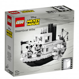 LEGO 21317 IDEALS STEAMBOAT WILLIE