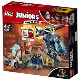 LEGO JUNIORS 10759 - INSEGUIMENTO SUL TETTO DI ELASTIGIRL