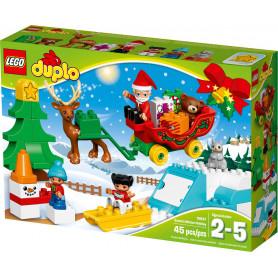 LEGO DUPLO TOWN 10837 LE AVVENTURE DI BABBO NATALE