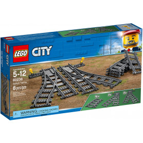LEGO CITY 60238 TRAINS SCAMBI