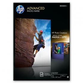 HP Q5456A CARTA FOT. LUCIDA A4 25FG