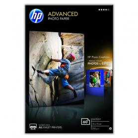 HP Q8008A ADVANCED GLOSSY PHOTO PAPER 10x15CM 60FF