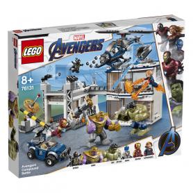 LEGO SUPER HEROES 76131 AVENGERS: BATTAGLIA NEL QUARTIER GENERALE