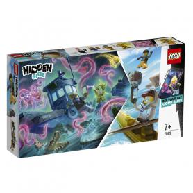 LEGO HIDDEN SIDE 70419 IL PESCHERECCIO NAUFRAGATO