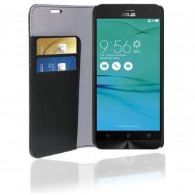 PHONIX ASGO3BCB ECO LEATHER BOOK CASE - BLACK - ASUS ZENFONE GO 5   ZB500KL