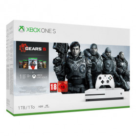 MICROSOFT XBOX ONE S 1TB INCLUDE GEARS OF WAR 2,3,4,5