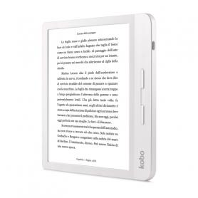 KOBO N873-KU-WH-K-EP LIBRA H2o BIANCO EBOOK READER 7  E-INK HD, REST.ACQUA