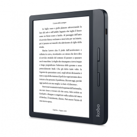 KOBO N873-KU-BK-K-EP LIBRA H2o NERO EBOOK READER 7  E-INK HD, REST.ACQUA