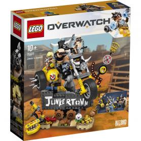 LEGO OVERWATCH 75977 JUNKRAT E ROADHOG