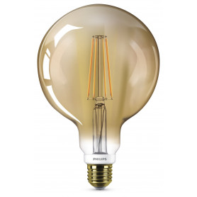 PHILIPS LED Globo Globo Classic E27 50 W 2000  dimmerabile LEDFILGL50GOLD