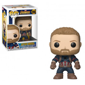 Figure POP! Marvel Infinity War Captain America