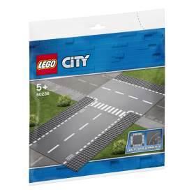 LEGO 60236 CITY SUPPLEMENTARY RETTILINEO E INCROCIO A T