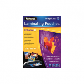 FELLOWES Enhance80 pouches lucide A3 cf. 25