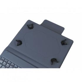 TUCANO TAB-GA10-IT-B GANCIO CUSTODIA UNIVERSALE TABLET 10   C/TASTIERA BT BLU
