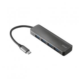 TRUST 23328 HALYX USB-C HUB 4PORTEUSB3.2 NON ALIMENTATO