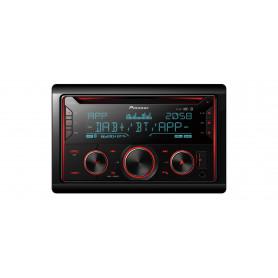 PIONEER FH-S820DAB SINTO CD BT 2DIN DAB  FLAC