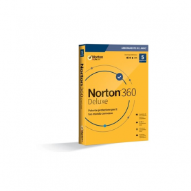 NORTON 360 Premium 2020 5 Dispositivi 12 Mesi 50Gb , Senza abbonamento - IT Box