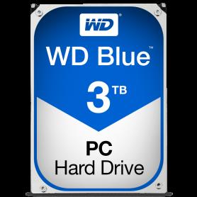 WD 3TB BLUE 64MB WD30EZRZ HARD DISK 3,5 SATA
