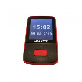 NEWMAJESTIC BT 8484R MP3 ROSSO NERO 8GB