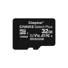 KINGSTON MICROSDHC 32GB SELECTPLUS UHS-I   ADATT. CL10 100mb/s LET  SDCS2/32GB