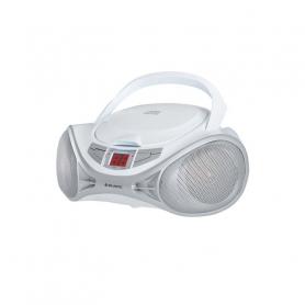 MAJESTIC AH 1262R AX RADIOREGISTRATORE CD/AUX WHITE SILVER
