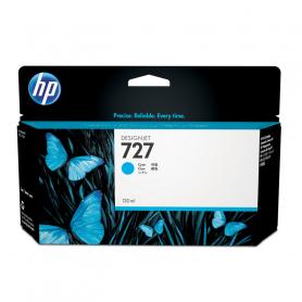 HP 727 - 130 ml - cartuccia alta capacita Ciano B3P19A