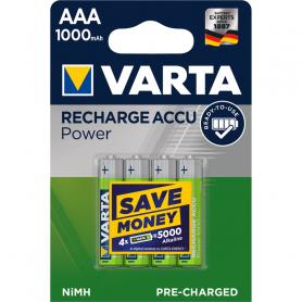 VARTA AAA  ministilo  x 4  1.000 mAh  RR ACCU  R2U  5703301404