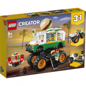 LEGO CREATOR 31104 MONSTER TRUCK DEGLI HAMBURGER