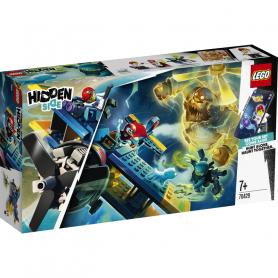 LEGO HIDDEN SIDE 70429 L AEREO ACROBATICO DI EL FUEGO