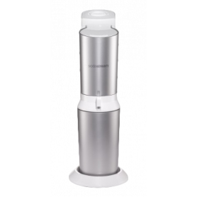 SODASTREAM 2270082 CRYSTAL WHITE METAL GASATORE