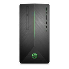 HP 690-0002NL DESKTOP  PAV RYZEN5-2600-8GBRAM-128SSD 1TERA-GTX 1060-3GB-WIN10