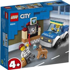 LEGO CITY POLICE 60241 UNIT   CINOFILA DELLA POLIZIA