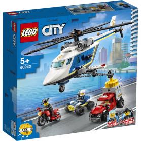 LEGO CITY POLICE 60243 INSEGUIMENTO SULL ELICOTTERO DELLA POLIZIA