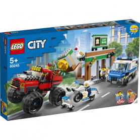 LEGO CITY POLICE 60245 RAPINA SUL MONSTER TRUCK