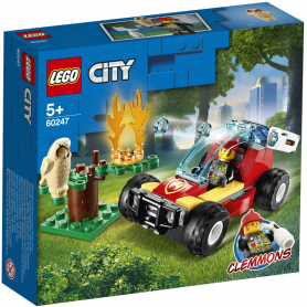 LEGO CITY FIRE 60247 INCENDIO NELLA FORESTA