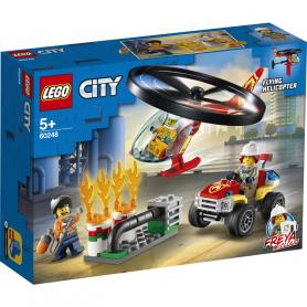 LEGO CITY FIRE 60248 ELICOTTERO DEI POMPIERI