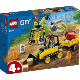 LEGO CITY GREAT VEHICLES 60252 BULLDOZER DA CANTIERE