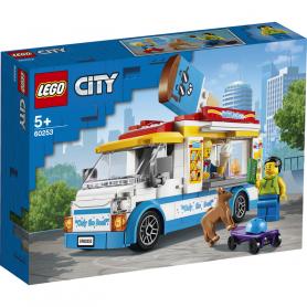 LEGO CITY GREAT VEHICLES 60253 FURGONE DEI GELATI
