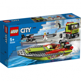 LEGO CITY GREAT VEHICLES 60254 TRASPORTATORE DI MOTOSCAFI