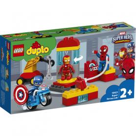 LEGO DUPLO SUPER HEROES 10921 IL LABORATORIO DEI SUPEREROI