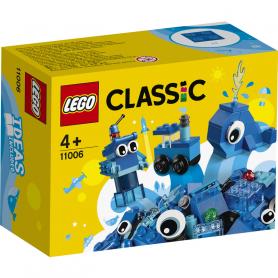 LEGO CLASSIC 11006 MATTONCINI BLU CREATIVI