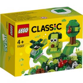 LEGO CLASSIC 11007 MATTONCINI VERDI CREATIVI