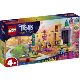 LEGO TROLLS 41253 AVVENTURA SULLA ZATTERA A LONESOME FLATS