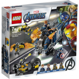 LEGO SUPER HEROES 76143 AVENGERS     ATTACCO DEL CAMION