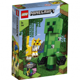 LEGO MINECRAFT 21156 MAXI-FIGURE CREEPER E GATTOPARDO